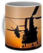 Two Royal Air Force Ch-47 Chinooks Take Coffee Mug
