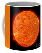 Two Solar Prominences Erupt Coffee Mug