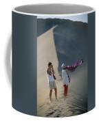 Two Tourist Are Transfixed Coffee Mug by Joel Sartore