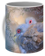 Two Turtle Doves Card Coffee Mug