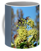 Two Wasps And A Bee Coffee Mug