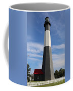 Tybee Island Lighthouse On Beautiful Day Coffee Mug