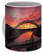 Tyne Bridges At Sunrise IIi Coffee Mug