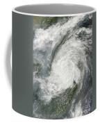 Typhoon Haikui Makes Landfall Coffee Mug