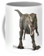 Tyrannosaurus Rex  Coffee Mug by Roger Hall and Photo Researchers