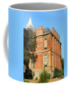 Uc Berkeley . South Hall . Oldest Building At Uc Berkeley . Built 1873 . The Campanile In The Back Coffee Mug