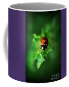 Ultra Electro Magnetic Single Ladybug Coffee Mug