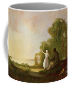 Uncle Tom And Little Eva Coffee Mug by Robert Scott Duncanson