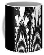 Undefined Black Lace Coffee Mug