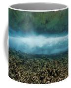 Under An Ocean Wave Coffee Mug