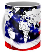 Under Protection Map Coffee Mug