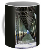 Under The Pier Coffee Mug