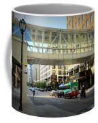 Under The Skywalk - Street Lamp Coffee Mug