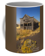 Under The Weight Of It All Coffee Mug by Mike  Dawson