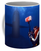 Underwater Photographer Takes Photos Coffee Mug by Michael Wood