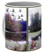 Unicorn Lake - Cross Your Eyes And Focus On The Middle Image Coffee Mug