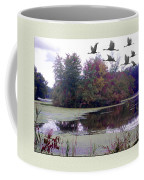 Unicorn Lake - Geese Coffee Mug