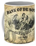 Union Banknote, 1863 Coffee Mug