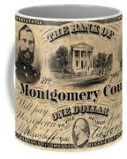 Union Banknote, 1865 Coffee Mug