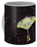 Unique Butterfly Resting On Tree Bark Coffee Mug