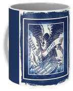 United States Blue Coffee Mug