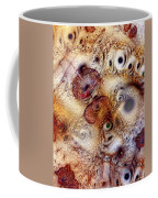 Unphased And Confused Coffee Mug by Casey Kotas