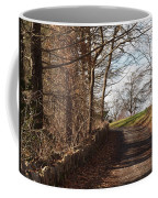 Up Over The Hill Coffee Mug by Robert Margetts