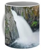 Upper Mccloud Falls 2 Coffee Mug
