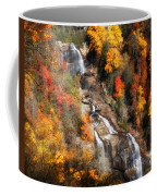 Upper Whitewater Falls Coffee Mug