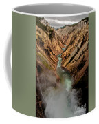 Upper Yellowstone Falls Coffee Mug