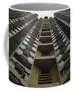 Upward View Of A Public Housing Coffee Mug by Justin Guariglia