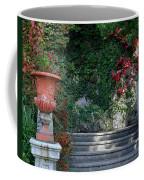 Urn And Steps At A Villa On Lake Como Coffee Mug