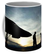 U.s. Air Force Airmen Prepare Coffee Mug
