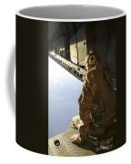 U.s. Air Force Commander Sits Harnessed Coffee Mug
