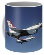U.s. Air Force F-16 Thunderbirds Coffee Mug