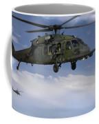 U.s. Air Force Hh-60 Pave Hawks Conduct Coffee Mug