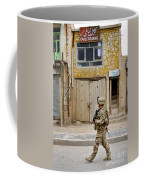U.s. Air Force Senior Airman Patrols Coffee Mug