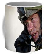 U.s. Air Force Sergeant Calls Coffee Mug