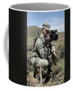 U.s. Air Force Sergeant Shoots Video Coffee Mug