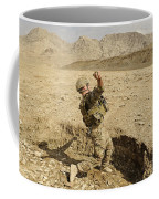 U.s. Air Force Soldier Throws A Frag Coffee Mug