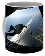 U.s. Airmen Jump Out Of A C-130 Coffee Mug