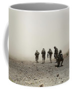 U.s. Army Captain Provides Security Coffee Mug