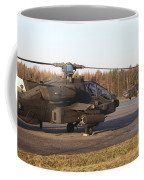 U.s. Army Helicopters At The Letzlingen Coffee Mug