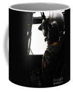 U.s. Army Officer Speaks To A Pilot Coffee Mug