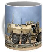 U.s. Army Sergeant Refuels A Caiman Coffee Mug