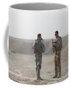 U.s. Army Soldier And German Soldier Coffee Mug
