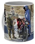 U.s. Army Soldier Conducts Vehicle Coffee Mug