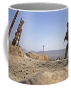U.s. Army Soldier On A Foot Patrol Coffee Mug