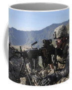 U.s. Army Soldier Provides Overwatch Coffee Mug