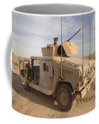 U.s. Army Soldier Pulls Security On Top Coffee Mug